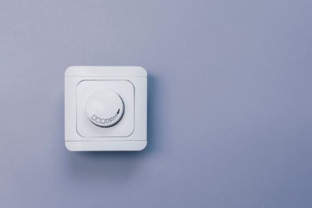Dimmer Switches Allow Brightness Adjustment for Ambience or Use as a Nightlight
