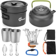 Top 10 Best Camping Cookware in the UK 2021 (Sea to Summit, Odoland and More)